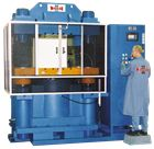 Vacuum chamber presses with clamp force from 10 to 1000 tons