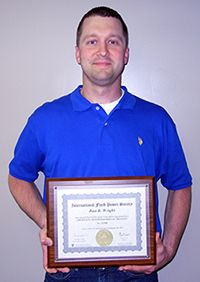 Daniel R. Wright, first Certified Fluid Power Hydraulic Specialist at Wabash, MPI.