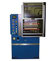 Wabash MPI pneumatic compression molding presses available in a clamping force of up to 30 tons.