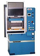Genesis Series compression molding press.