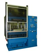 Vantage four-post Hydraulic Compression Molding press.