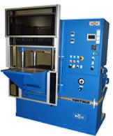 Vantage Series four-post hydraulic, composite presses.